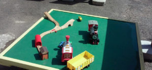 Brio type train for the littlest people