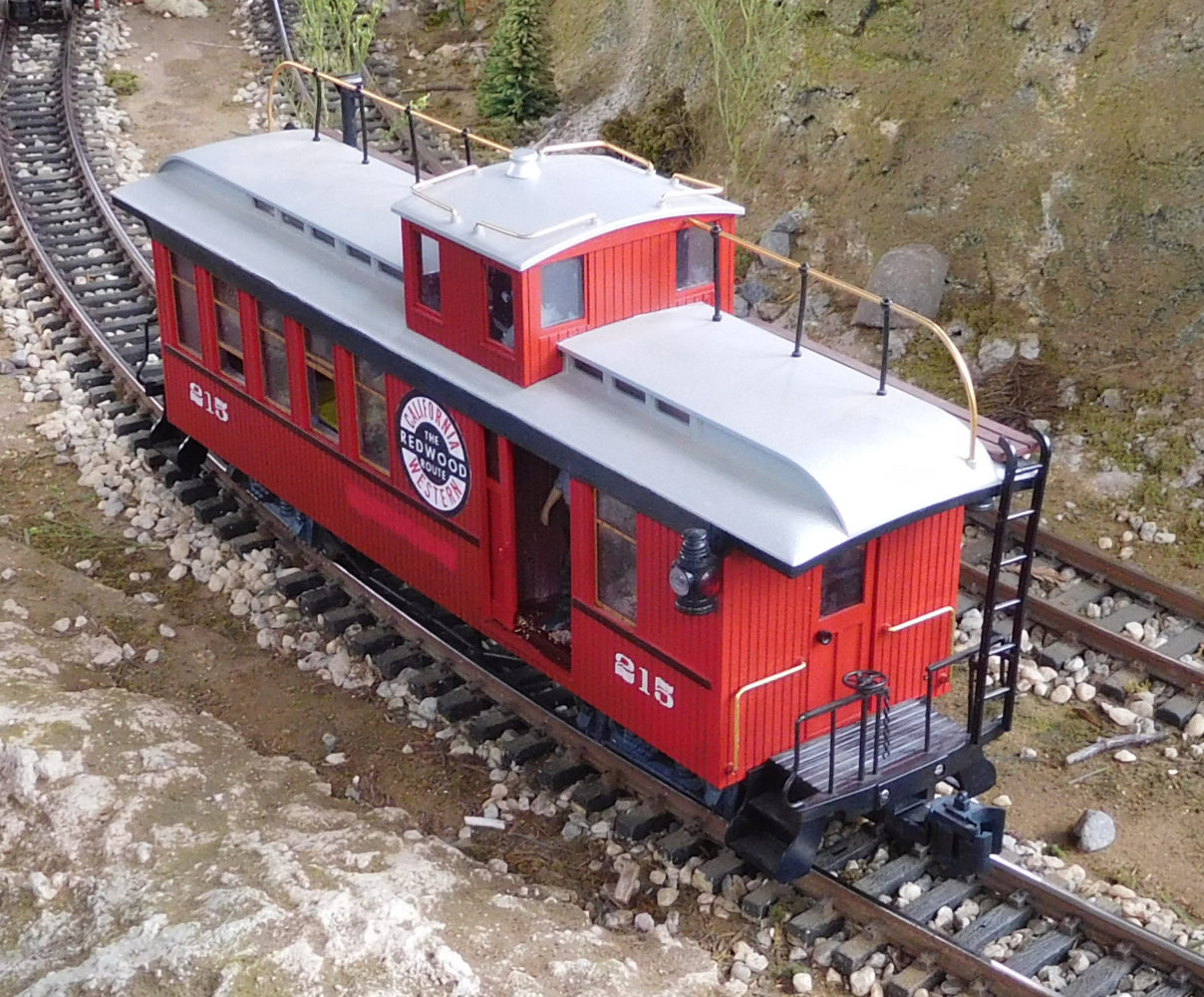 Drovers' caboose