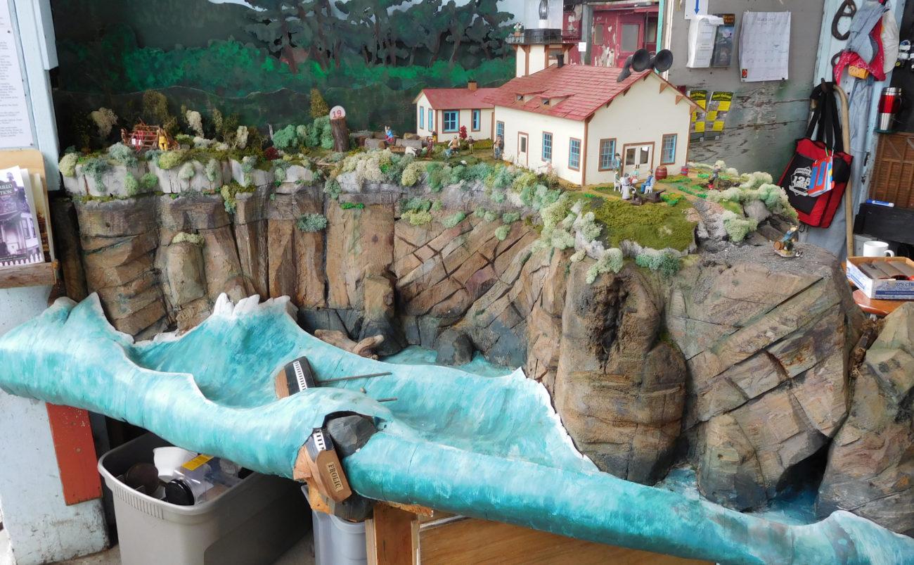 Point Cabrillo diorama