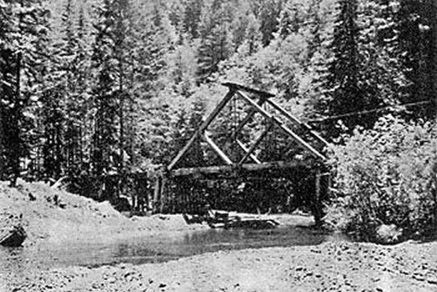 A-Frame Bridge across the River Noyo