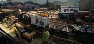 The depot area
