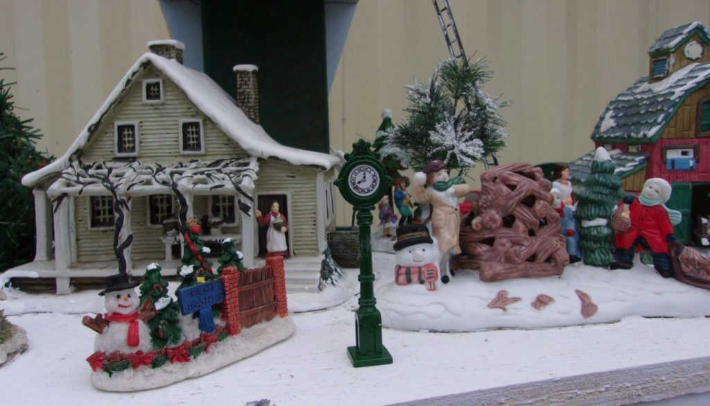 North end of the Holiday Village