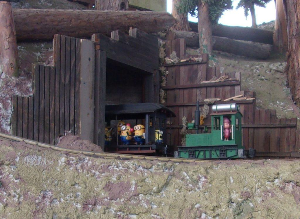 The Minion Train at work