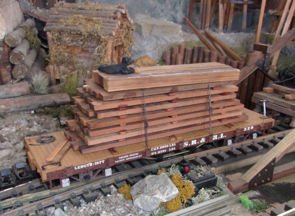 Boomer Jack riding the rails